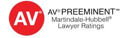 AV Lawyer Rated
