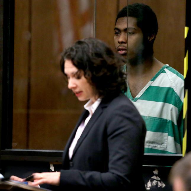 Megan Burns in court
