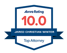 Jared Winter's Avvo badge