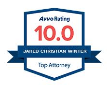 Jared Winter's Avvo badge