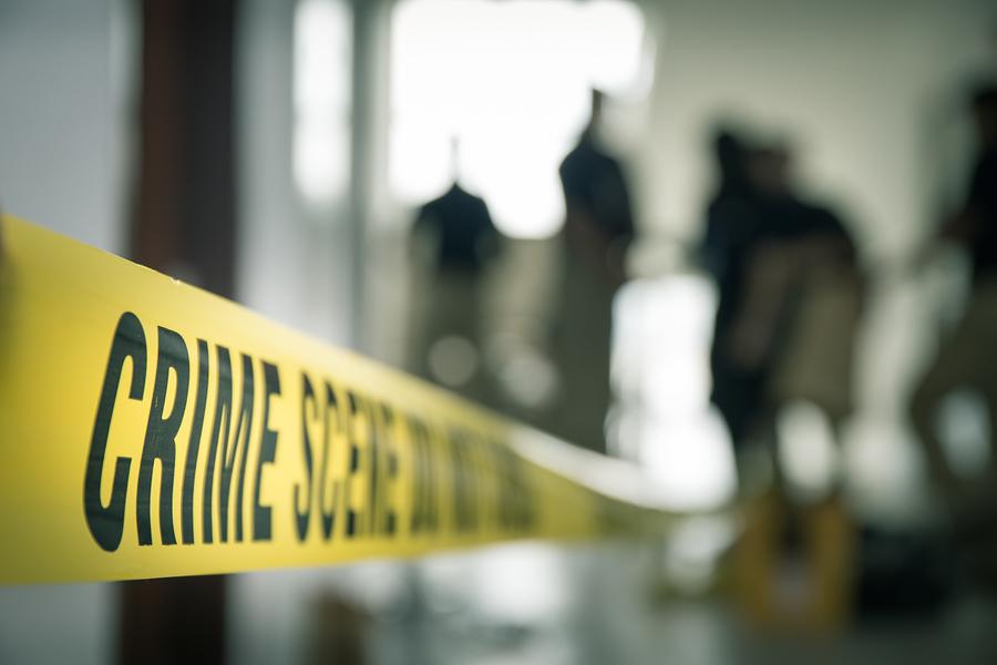 Crime scene banner